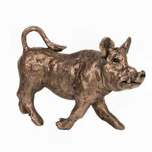 Wild Boar - Bronze Sculpture - Thomas Meadows TM063
