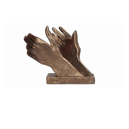 Clapping Hands NHS Tribute - Bronze Sculpture - Thomas Meadows TM072