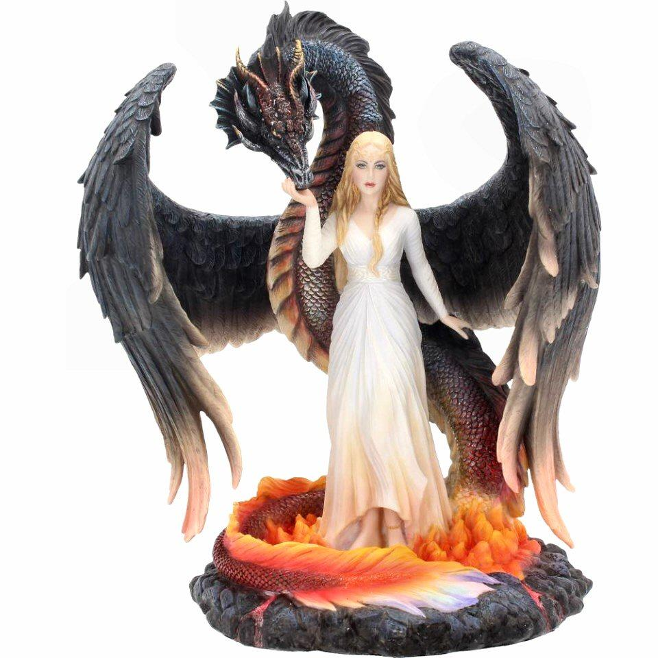 Born of the Flames - Dragon Figurine - Nemesis Now D3498J7