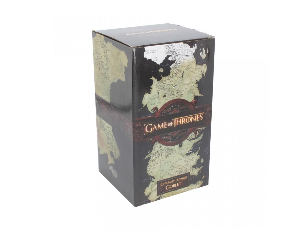 The Seven Kingdoms Goblet - Game of Thrones - Nemesis Now B3691J7
