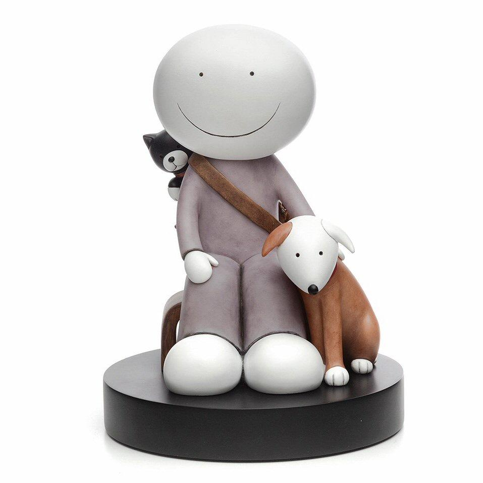 The Great Outdoors - Porcelain Sculpture by Doug Hyde - DeMontfort