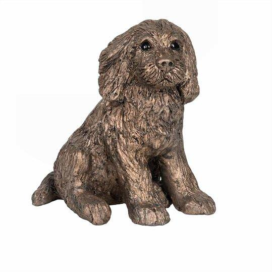 Raffles the Cocker Spaniel - Bronze Dog Sculpture - Paul Jenkins S204