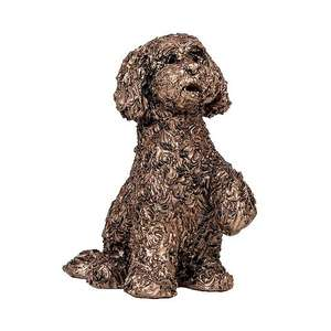 Bella the Cockapoo - MINIMA Bronze Sculpture - Adrian Tinsley ATM005