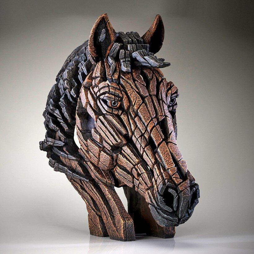 Horse Bust - Bay EDB18B EDGE by Matt Buckley