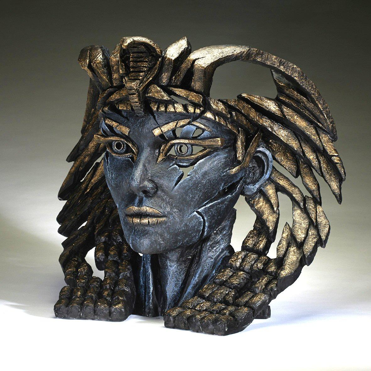 Cleopatra Bust - Blue and Gold EDB06 EDGE by Matt Buckley