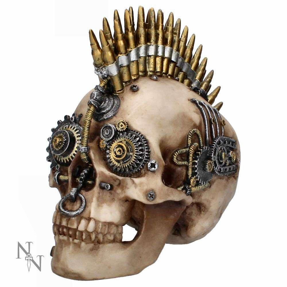 Gears of War - Large (u2918h7) - steampunk skull sculpture