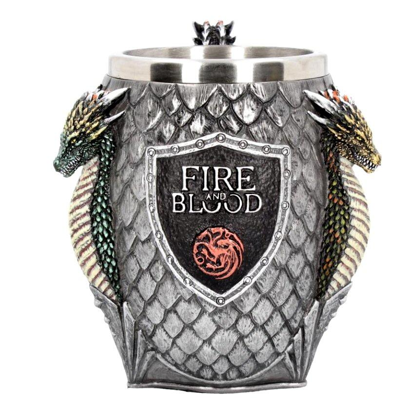 House Targaryen Tankard - Game of Thrones - Nemesis Now B3704J7