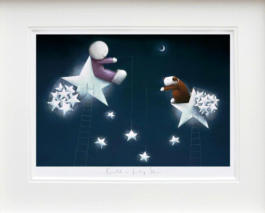 Catch a Falling Star by Doug Hyde - DeMontfort ZHYD643 - framed