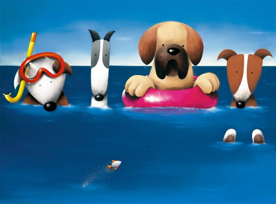 Doggie Paddle by Doug Hyde - DeMontfort ZHYD592