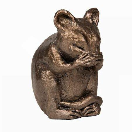 Mortimer Mouse - MINIMA Bronze Sculpture - Wendy Harrison  WHM002