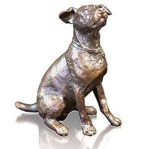 Jack Russell Sitting by Michael Simpson - Bronze Sculpture - Small 1121