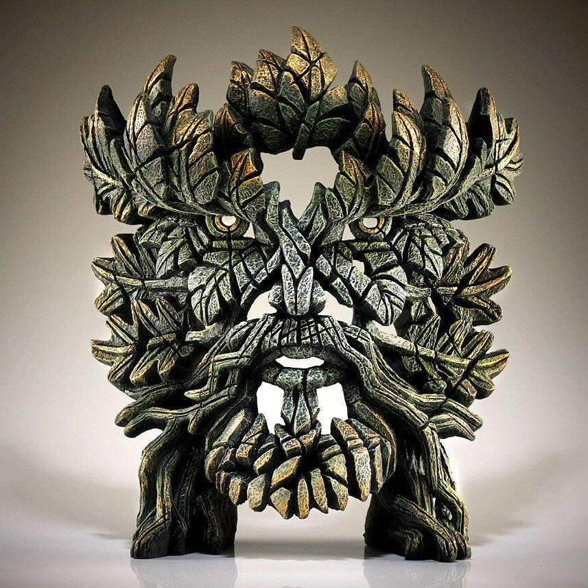 Green Man Bust EDB16 EDGE by Matt Buckley