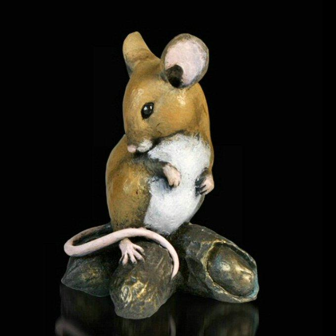 Mouse with Monkey Nuts (236BR) by Michael Simpson