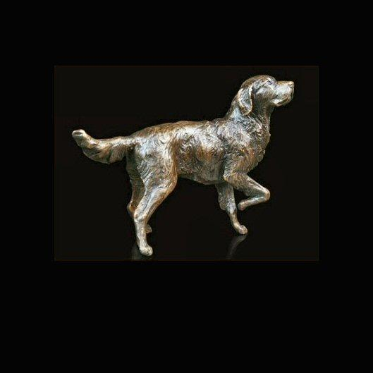 Retriever (630) in bronze by Michael Simpson