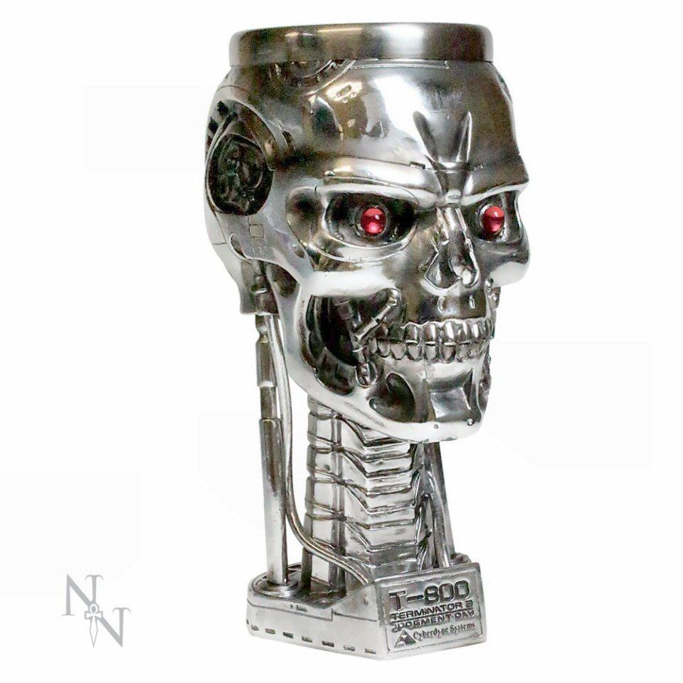 Terminator 2 Head Goblet - Nemesis Now - B1456D5