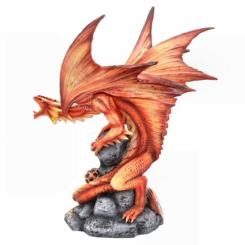 Adult Fire Dragon - Dragon Figurine - Nemesis Now D4516N9