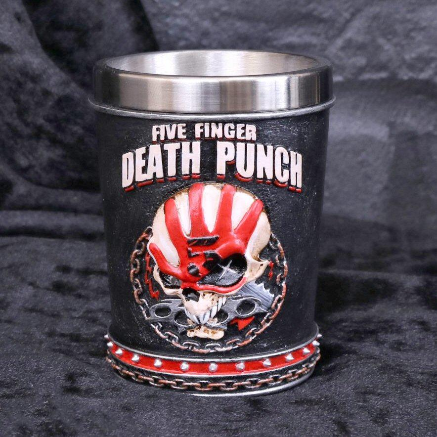 Five Finger Death Punch Shot Glass - Set of 2 - Nemesis Now B4655N9
