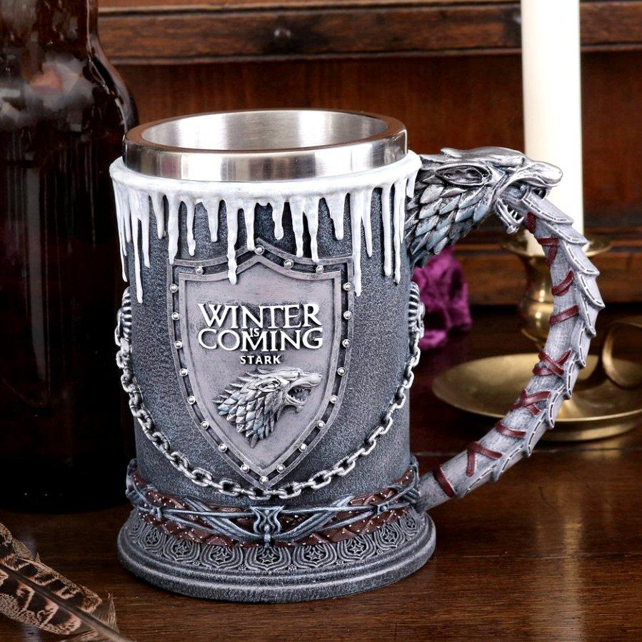 House Stark Tankard - Game of Thrones - Nemesis Now B3702J7