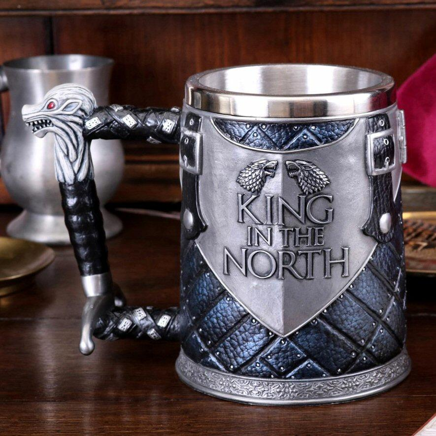 King in the North Tankard - Game of Thrones - Nemesis Now B4158M8