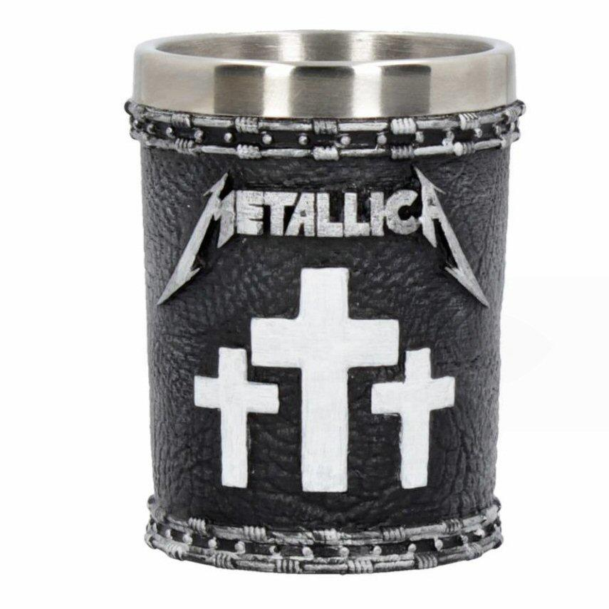 Metallica Shot Glass - Master of Puppets Set of 2 Nemesis Now B4683N9