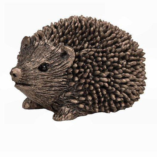 Prickly the Hoglet - MINIMA Bronze Sculpture - Thomas Meadows TMM006