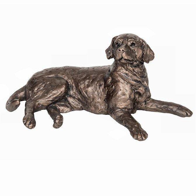 Meghan the Labrador - Bronze Dog Sculpture - Thomas Meadows TM056