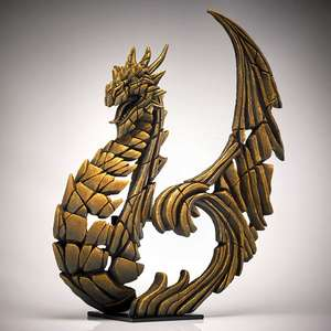 Heraldic Dragon - Golden ED27G EDGE by Matt Buckley
