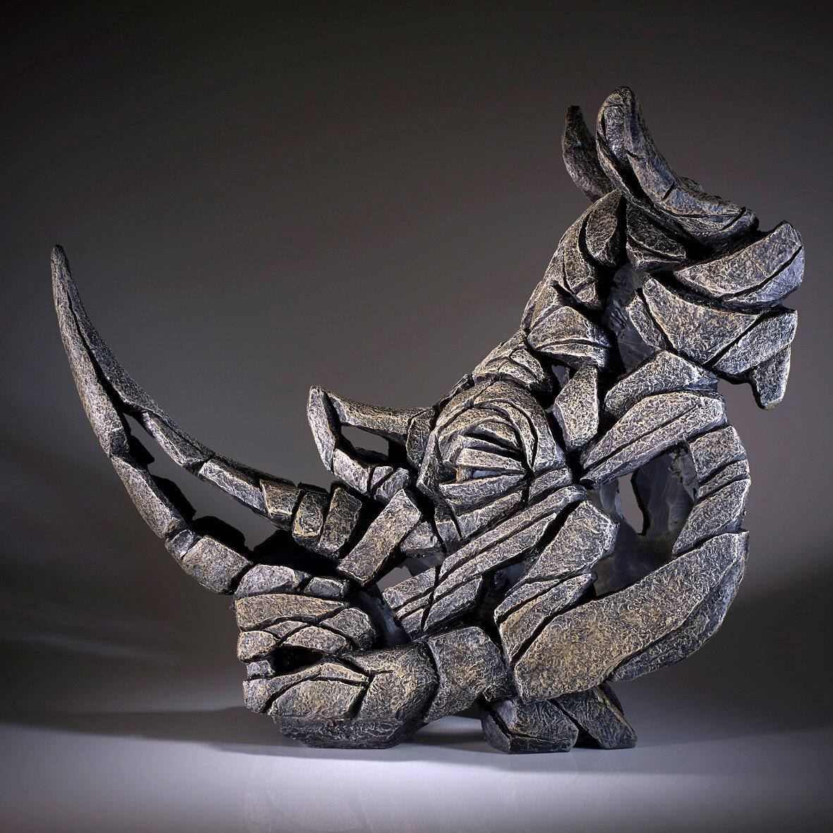 Rhinoceros Bust EDB07 EDGE by Matt Buckley