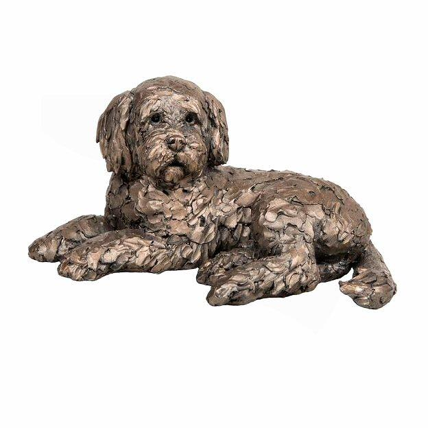 Ozzy - Cockapoo Lying AT035 by Adrian Tinsley