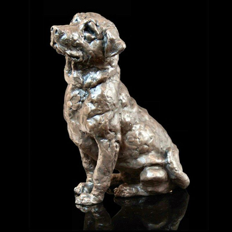 Laddie - Labrador (208BR) - Bronze Sculpture by Grant Palmer