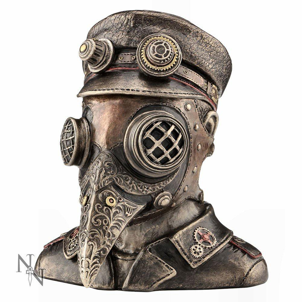 Steam Doctor (c2422g6) - steampunk sculpture