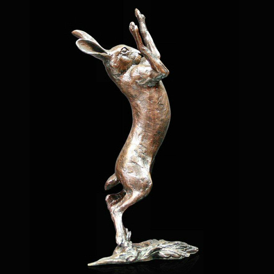 Medium Hare Boxing (1012) - by Michael Simpson