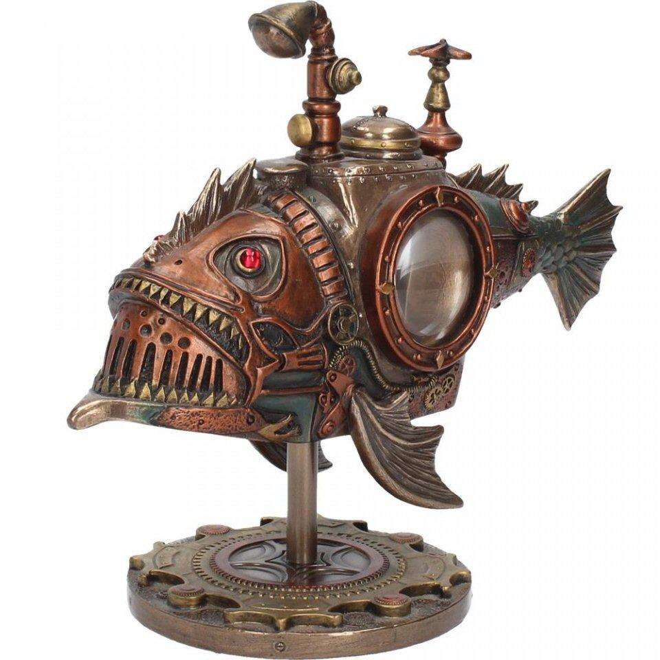 Sub Piranha (c1999f6) - steampunk submarine