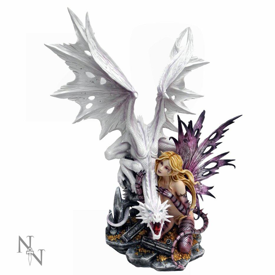 Aarya Dragon Guardian - Fairy Figurine - Nemesis Now D0131A3
