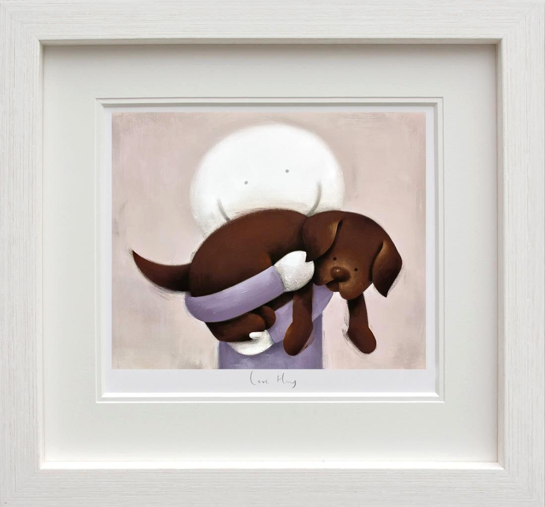 Love Hug by Doug Hyde - DeMontfort ZHYD665 - framed