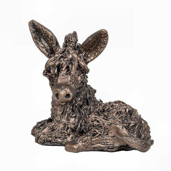 Dusty the Donkey - MINIMA Bronze Sculpture - Veronica Ballan VBM004