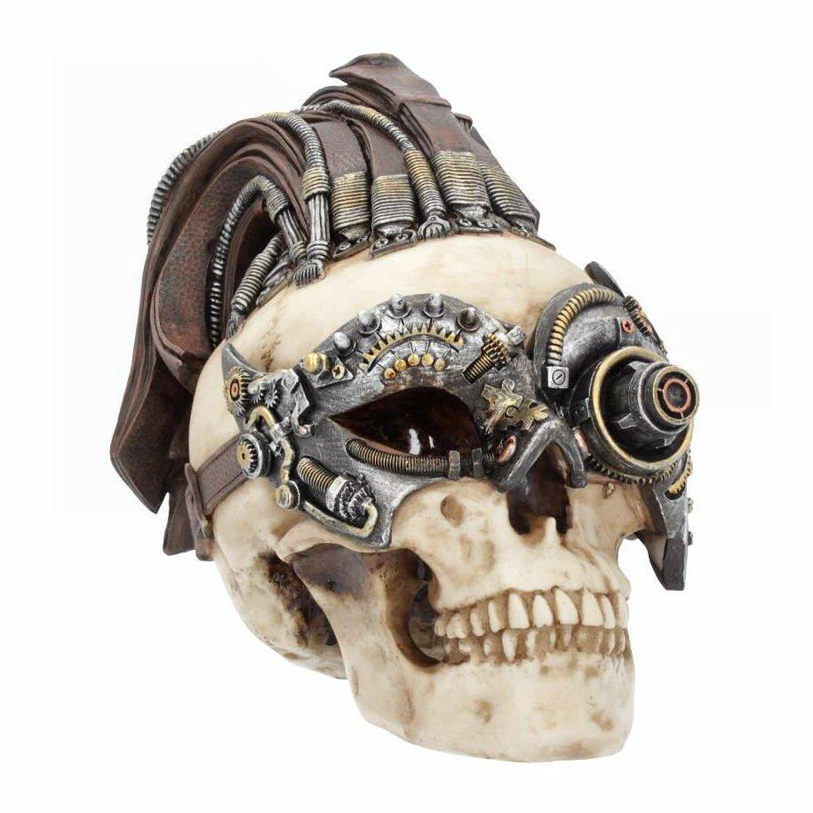 Dreadlock Device (large) - Steampunk Sculpture - Nemesis Now U4467N9
