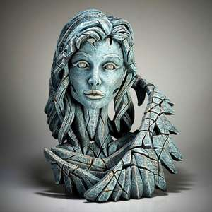 Angel Bust - Teal - EDGE Sculpture EDB25T
