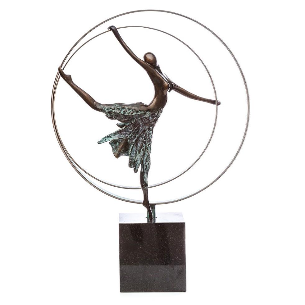 Elevation - Bronze Sculpture by Jennine Parker - DeMontfort SPAK020