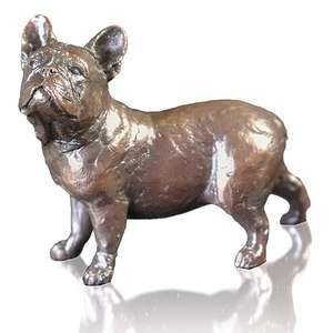 French Bull Dog by Michael Simpson - Bronze Sculpture - Small 1133
