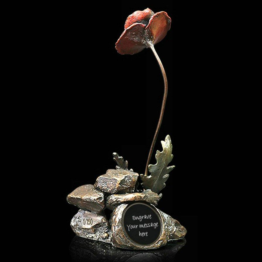 Poppy (Personalised) - Bronze Sculpture - Keith Sherwin 1057