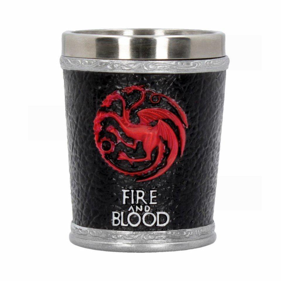 Fire and Blood Shot Glass - Set of 2 - Game of Thrones - Nemesis Now B4453N9