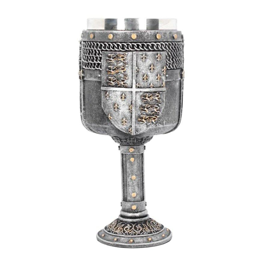 Shield of the Realm Goblet - Nemesis Now D4223M8