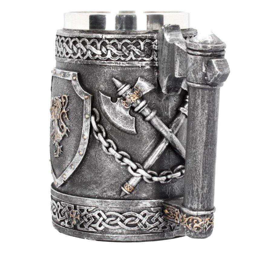 Victory of Battle Tankard - Nemesis Now D4212M8