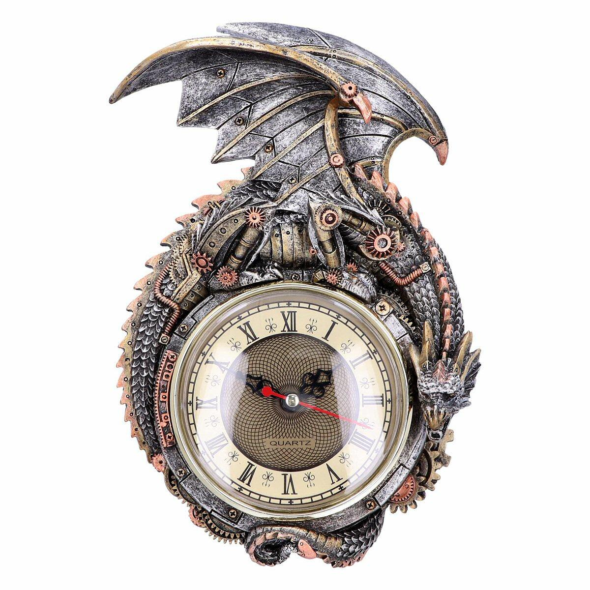 Clockwork Combustor - Steampunk Dragon Clock - Nemesis Now U4775P9