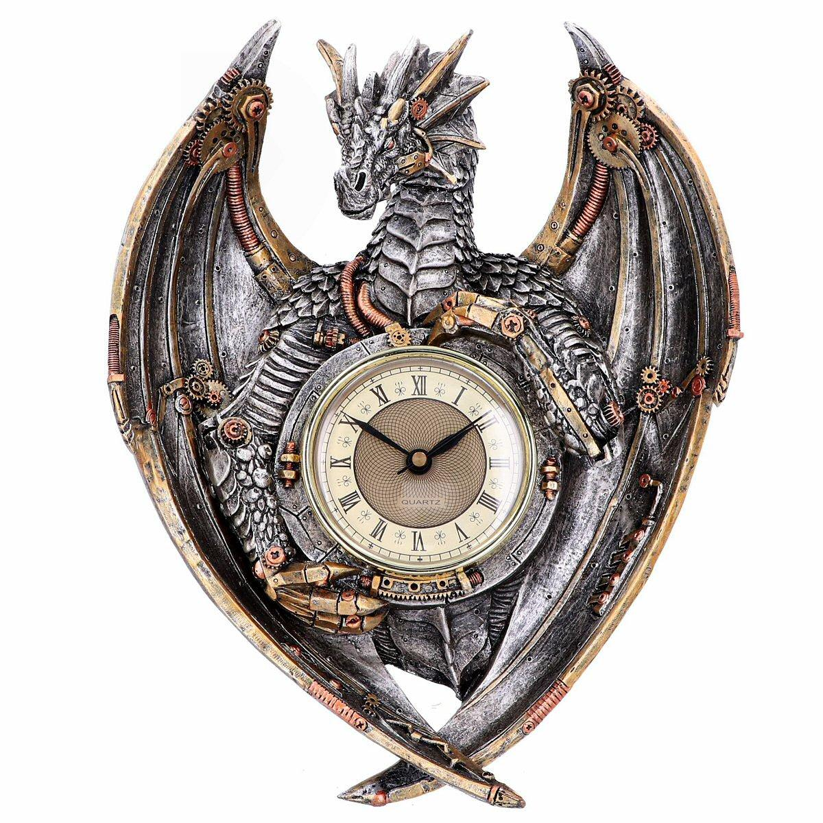 Dracus Horologium - Steampunk Dragon Clock - Nemesis Now U4770P9