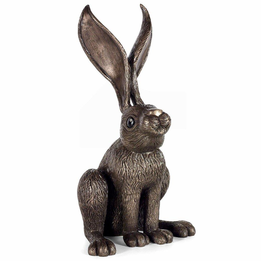 Hare's Looking at You - Sculpture by Jennifer Hogwood - DeMontfort