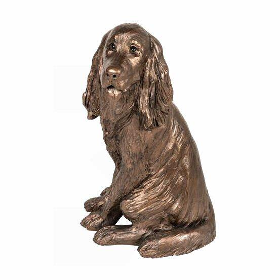 Sam the Cocker Spaniel - Bronze Dog Sculpture - Paul Jenkins S206