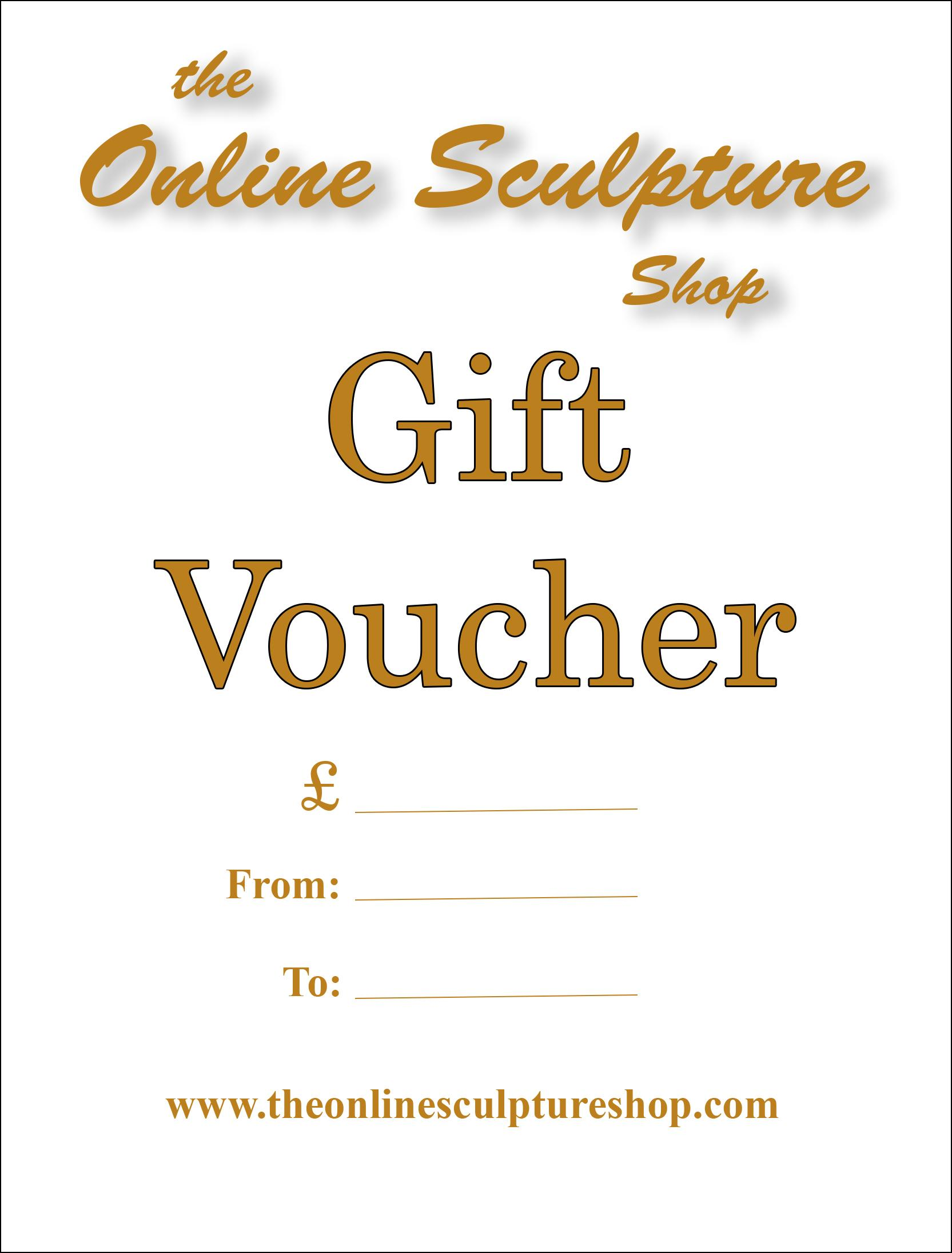 Gift Voucher - the Online Sculpture Shop