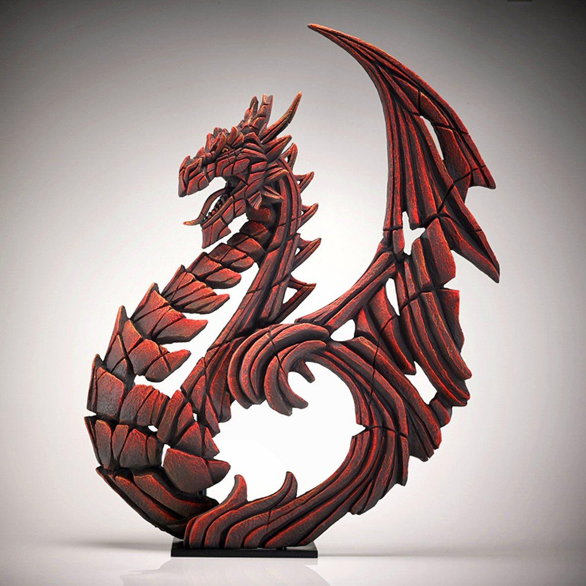 Heraldic Dragon - Red ED27R EDGE by Matt Buckley